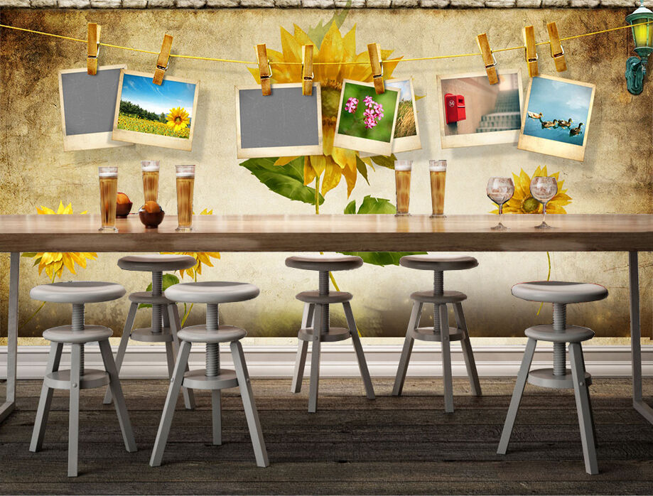 3D photo Shelf wall Paper Print Decal Wall Deco Indoor wall Mural