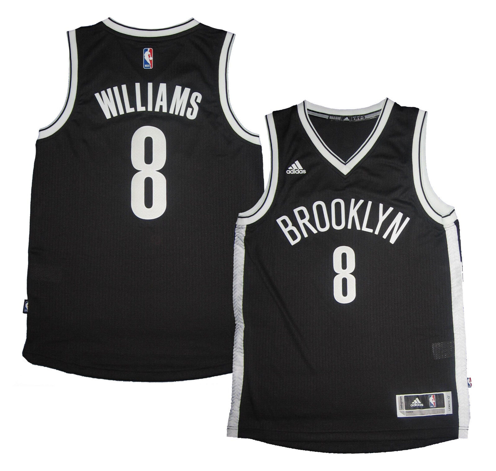 Maillot swingman NBA Brooklyn Nets swingman Maillot Adidas Deron Williams bb9221