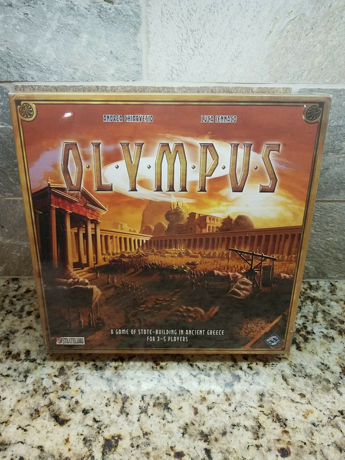 Olympus Board Game - Fantasy Flight Games - Strategy Greek Gods Stratelibri