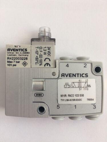 Aventics vie valvola ls04-5//2sr-024dc-xs-i-m8-d4-ne OVP Rexroth