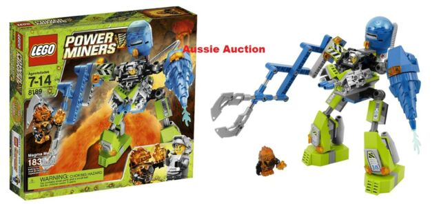 Lego 8189 Power Miners - Magma Mech [NEW] VERY RARE