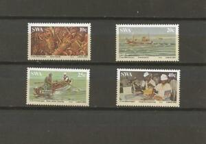 SOUTH-WEST-AFRICA-1983-Lobster-Industry-MUH-SET