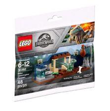 2 NEW LEGO JURASSIC WORLD MAGAZINES EDS 1G #4 OWEN 3 BABY RAPTORS PLAYPEN /& NEST
