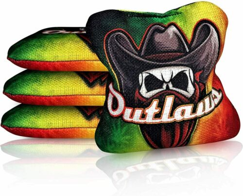 ACL Approved Resin Filled Outlaws Series Set of 4 Bags Local Bags Cornhole