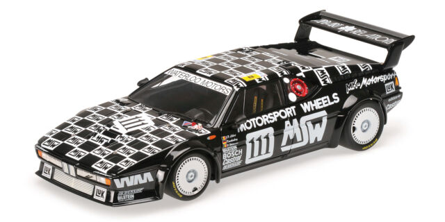 BMW M1 Mk Motorsport Witmeur Krankenberg Libert 24h The Mans 1986 1:18 Model