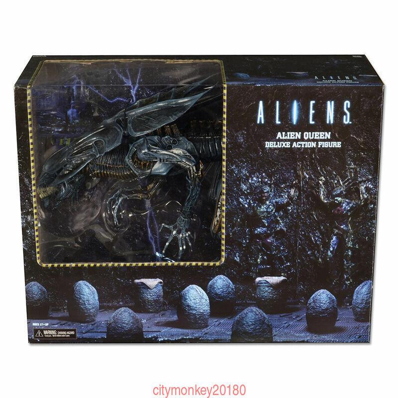 Aliens - Ultra Deluxe Boxed Action Figure - Xenomorph Alien Queen - NECA BOX New