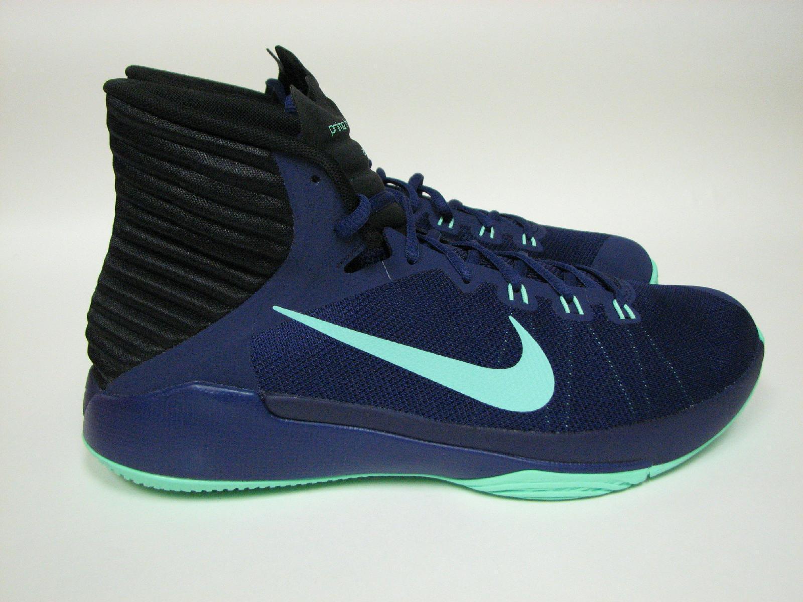 Nike 844787 Prime Hype DF 2018 844787 Nike Azul 402 GRN Tela Para hombres Baloncesto Zapatos bf5b04