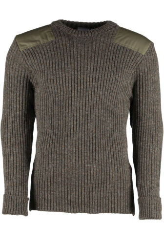 OUTDOOR,UNIFORM,SECURITY,MILITARY WOOL NATO // ARMY JUMPER #09024 WOOLLY PULLY