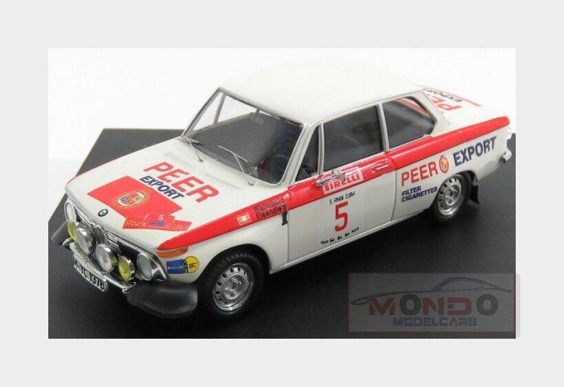 Bmw 2002  5 Rally Isola D'Elba 1972 A.Warmbold H.Eisendle TROFEU 1 43 TR1730