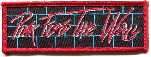 PINK FLOYD the wall bricks EMBROIDERED IRONON PATCH Free Shipping P0513