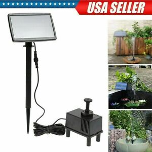 Solar-Panel-Power-Fountain-Submersible-Water-Pump-Pond-Pool-Kit-Garden-Watering