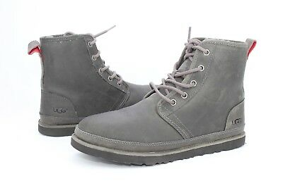 3579ee662a5 UGG For Men Boots Harkley Waterproof Leather / Wool Charcoal US Size ...
