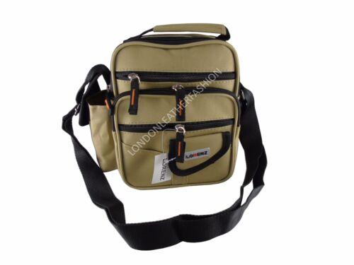 Canvas Large Lorenz Shoulder Bag With Multiple Zipped Pockets Holiday Travel Bag