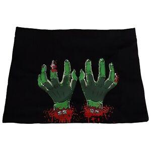 New-Kreepsville-666-Comic-80s-Goth-Punk-Gothic-Horror-Zombie-Black-Mini-Skirt-XL