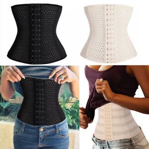 Breathable-Elastic-Body-Shaping-Slimming-Tummy-Waist-Shaper-Cincher-Corset-Belt