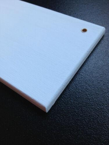 Pre Pintado Mdf Craft placas signos espacios en blanco varios tamaños ** acabado superior ***