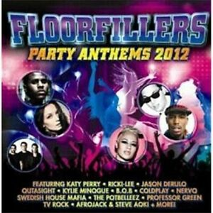 Details about FLOORFILLERS Party Anthems 2012 feat  Katy Perry & Jason  Derulo 2CD NEW