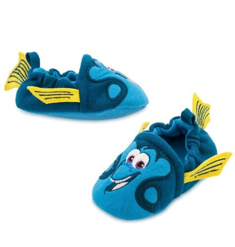 Disney Store Finding Dory Baby Dress Up Costume Blue Booties Slippers Crib Shoe