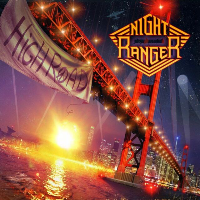 High Road NIGHT RANGER CD ( FREE SHIPPING)