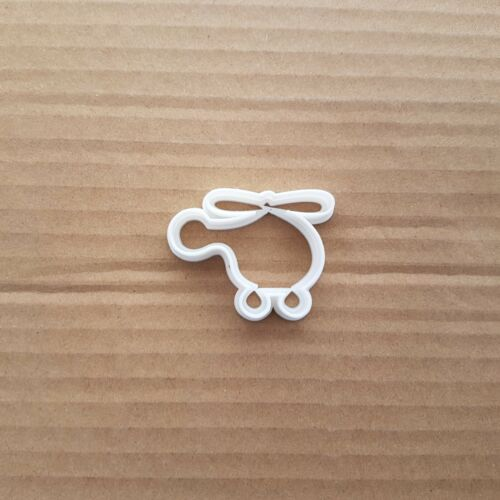 Helicopter Chopper Shape Cookie Cutter Dough Biscuit Pastry Fondant Sharp