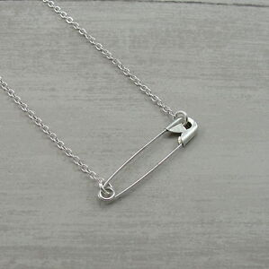 Solidarity Safety Pin Movement Necklace Safe Place Stronger Together Jewelry Ebay
