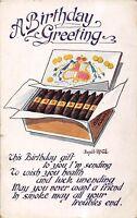 POSTCARD   COMIC   DONALD  McGILL    Birthday  Greeting.........