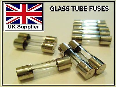 "100PCS 0.2A 250V Quick Fast Blow Glass Tube Fuse 5mmx20mm 0.2/""x0.8/"" F0.2AL250V"
