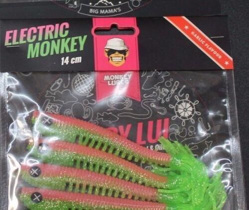 Monkey Lures Hairy Lui 14cm Gummifische Kunstköder