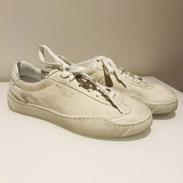 Acne Studios Lars Leather SNEAKERS for