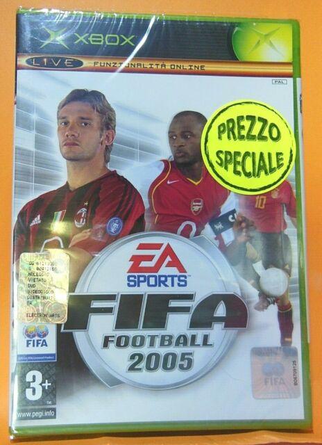 Gioco XBOX Fifa Football 2005 Nuovo sigillato
