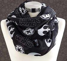 STAR WARS INFINITY SCARF - Star Wars Endless Loop Scarf - Star Wars Dress Scarf