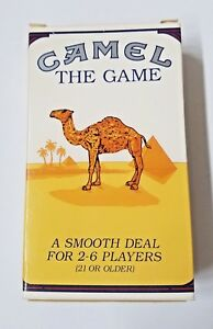 Camel Cigarettes The Game Playing Cards With Dice Mint Condition For Display Ebay