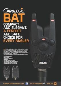 PRO-LOGIC-BAT-singolo-LED-Bite-Alarm-PESCA-CARPA-BARBO-grossolano-Pike-Rod-Rest-Pod