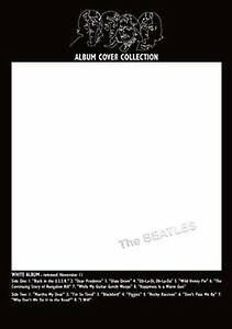 The-Beatles-White-Album-Cover-Bordered-Postcard-Fan-Gift-Idea-100-Official