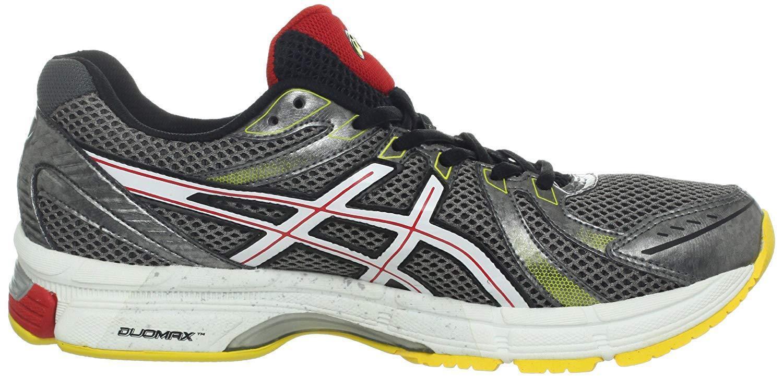 ASICS Men's Gel-Exalt (Carbon White-Red Pepper) Running shoes