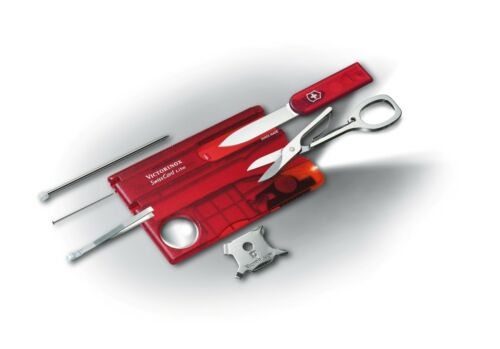 Victorinox Swiss Army SwissCard Lite Free Shipping Ruby