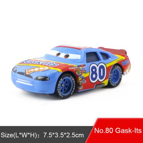 Disney Pixar Cars 2 3 Snot Rod /& DJ /& Boost /& Wingo Miniature Jouet Auto 1:55