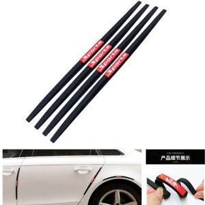 4X Car Door Protection Bumper Car Door Edge Protector Anti-rub Anti-Collision Protector Car Rearview Mirror Edge Protection,White