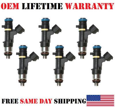 Reman 6x FOR -06-07-08 Infiniti FX35 3.5L V6 Bosch P#0280158042 Fuel Injectors