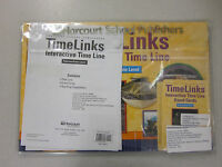 Harcourt School Publishers Timelinks Intermediate Level Reflections 0153466960