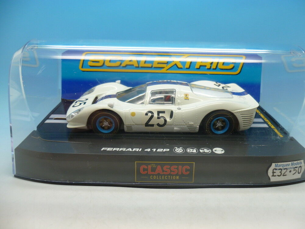 Scalextric C2918 Ferrari 412P Nart No25 mint unused
