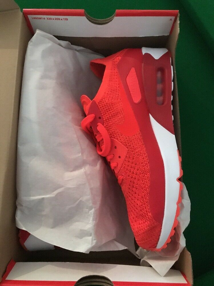 NIKE AIR MAX 90 ULTRA 2.0 FLYKNIT MENS TRAINER RUNNING SHOE SIZE 8