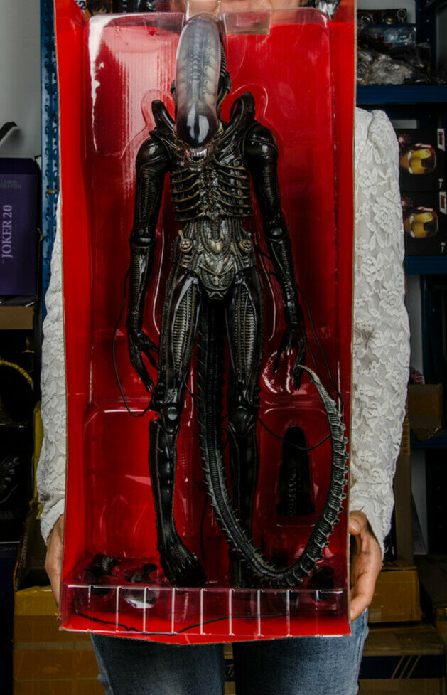 NECA Alien 14 Scale azione cifra  40th Anniversary '79 gree Chap Alien  nuovo