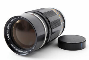 near-Mint-Canon-135mm-f-3-5-fuer-l39-LTM-Leica-Screw-mount-schwarz-aus-Japan