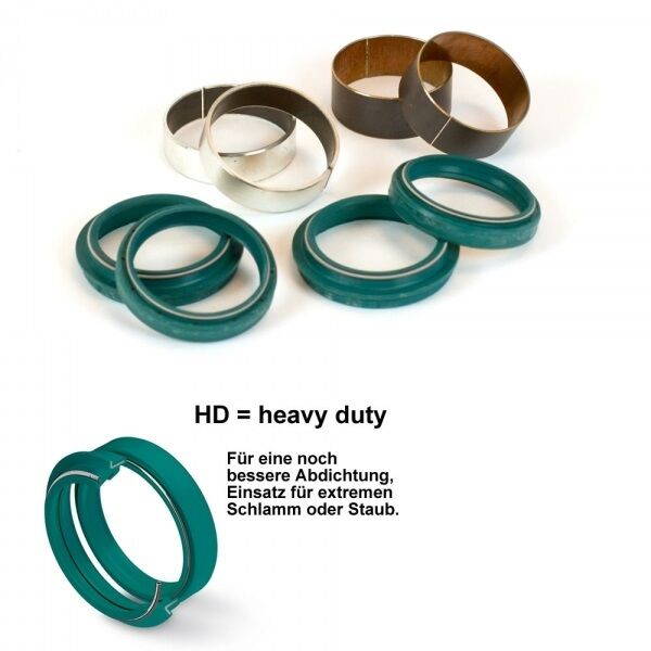 SKF Horquilla Revisiones Kit de Set Anillos Obturadores + Reparación Showa 48MM