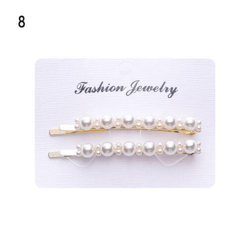 Haarschnitt Vintage Barrettes Pearl Flower Haarnadeln Schmuck für Kopfschmuck