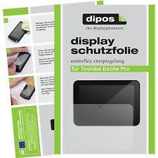 2x dipos Toshiba Excite Pro Tablet matt Displayschutzfolie Antireflex Testsieger