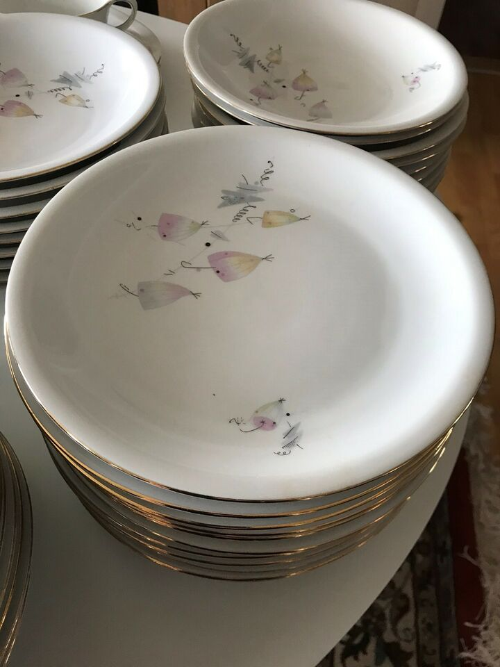 Porcelæn, Spise stel