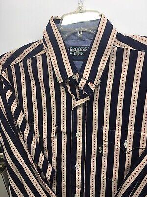 Size 12 Vintage David Brooks Christmas shirt Free Shipping Holiday Shirt