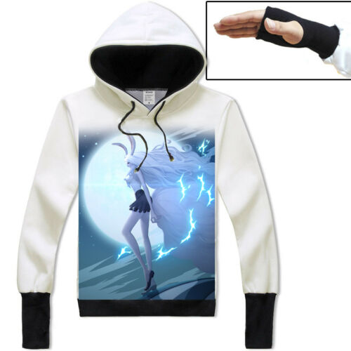 Anime One Piece Carrot Unisex Hoodie Pullover Coat Long Sleeve Tops#K-A698